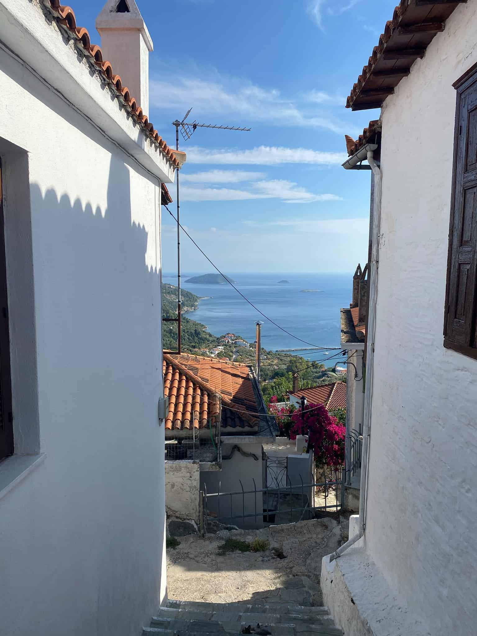 Skopelos Holidays: Spend an afternoon in Glossa
