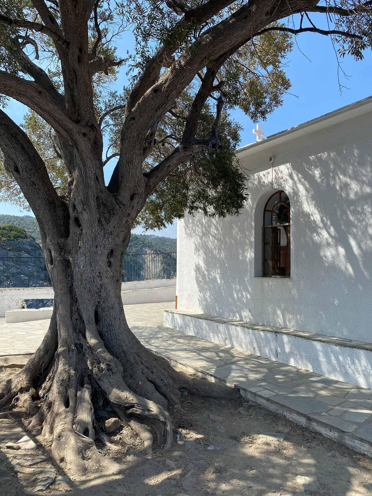 The Tiny Church of Agios Ioannis Kastri