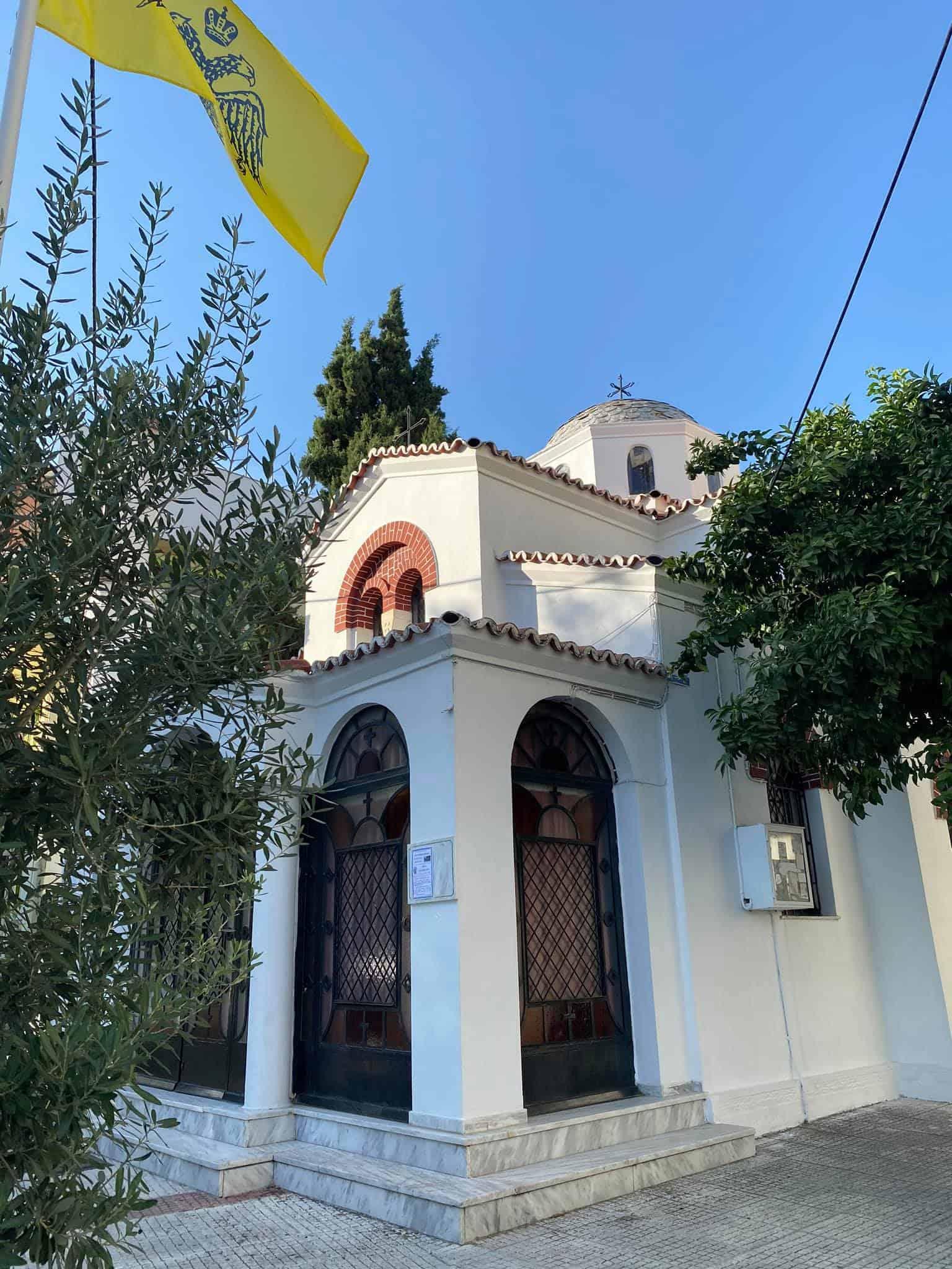 Orthodox churches occupy virtually every street corner in Volos