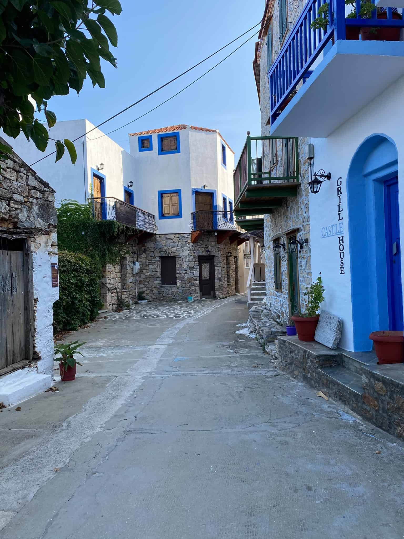 Old Town (Chora) Alonissos