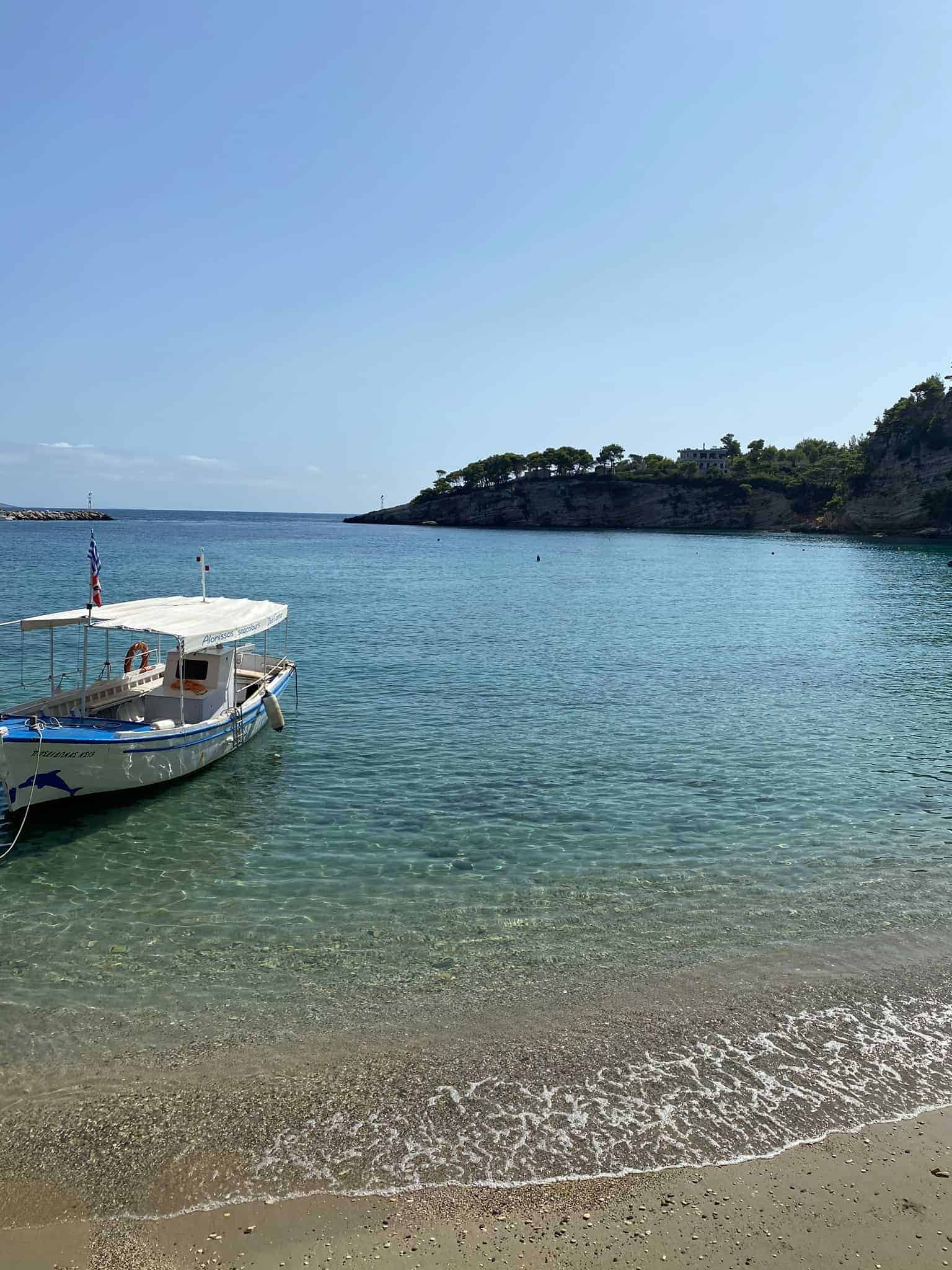 Patitiri beach, Alonissos