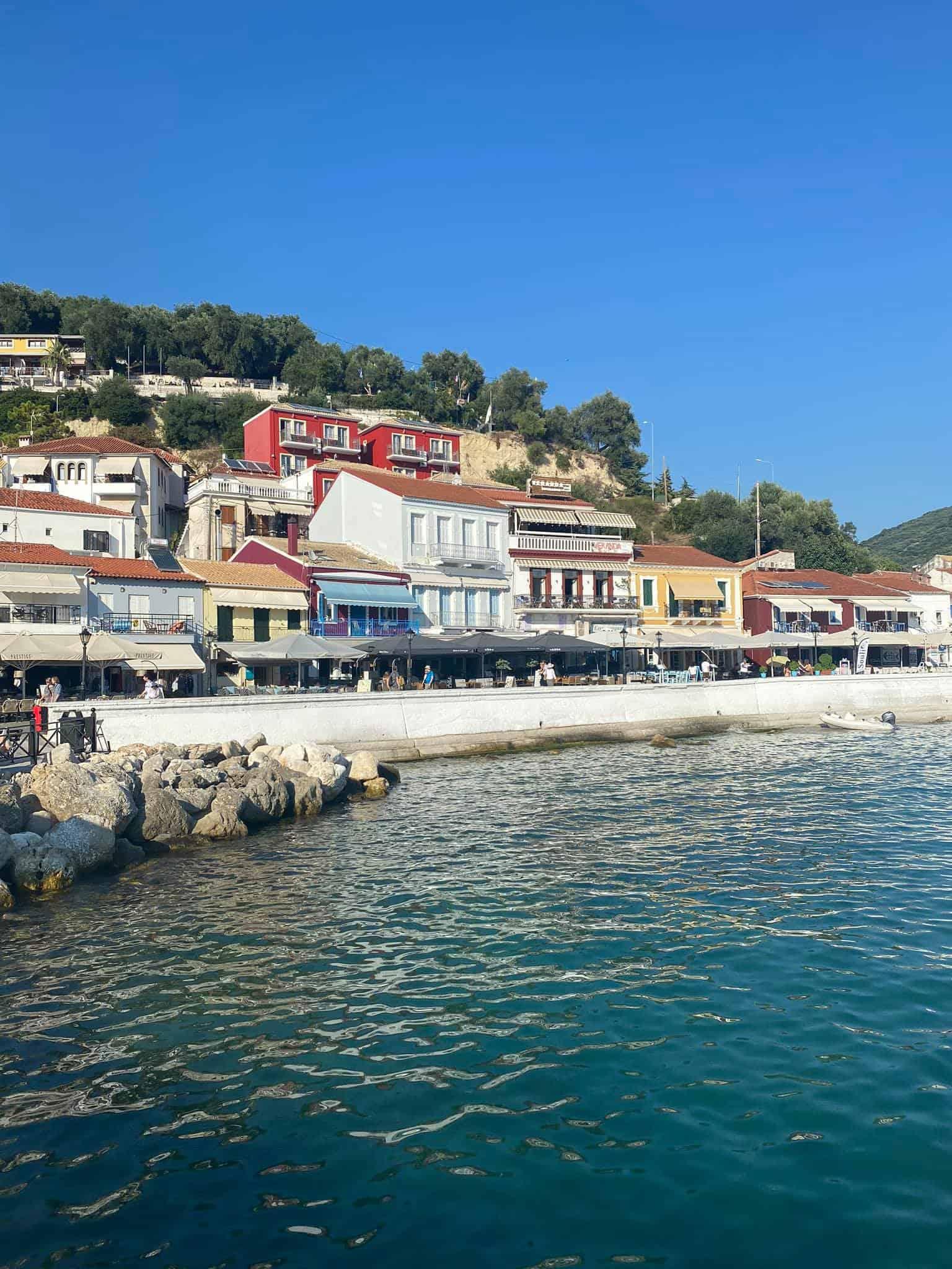 Parga, Greece Seafront