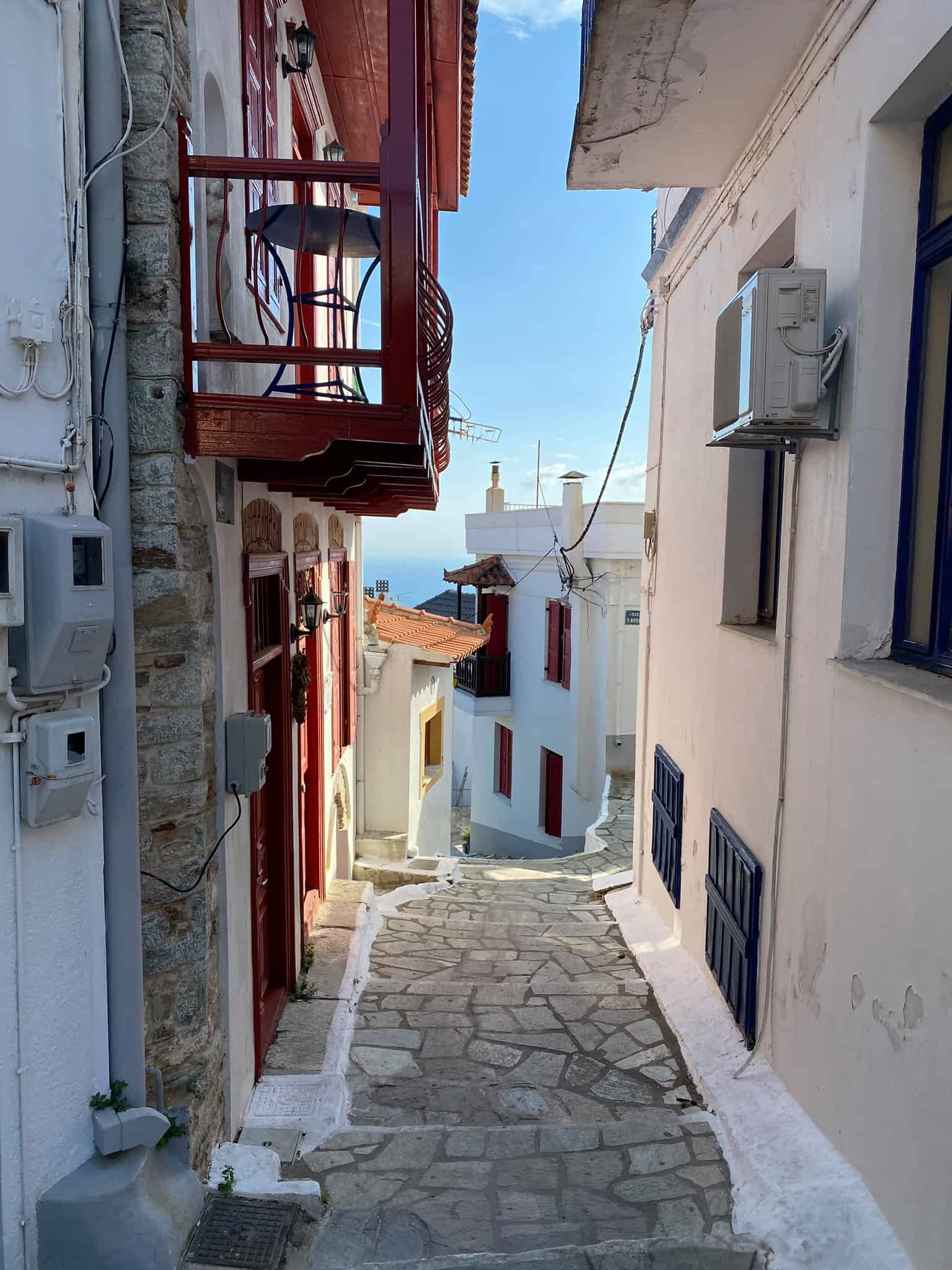 Where to Stay in Skopelos: Glossa village