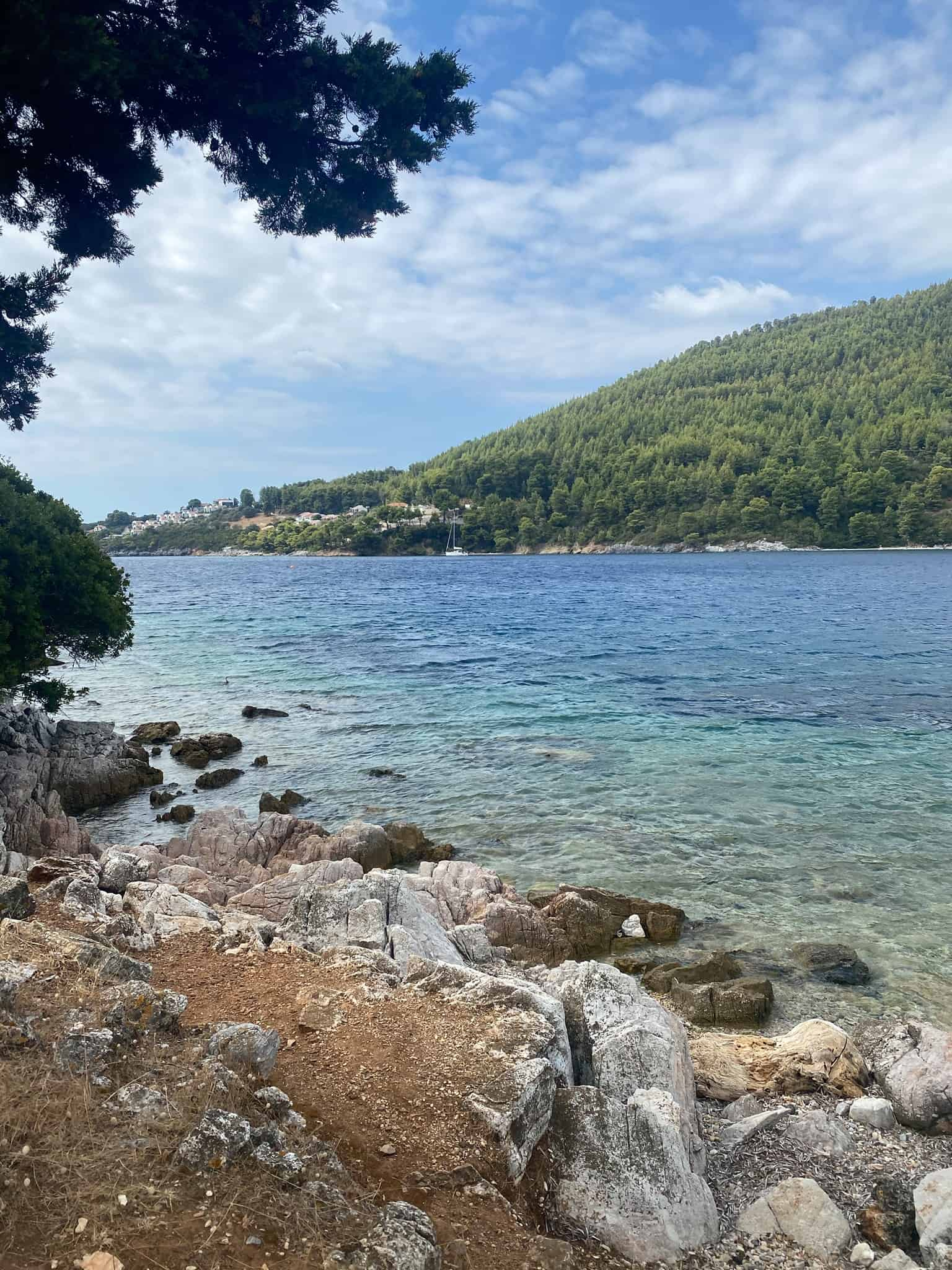 Where to Stay in Skopelos: Panormos Beach Town