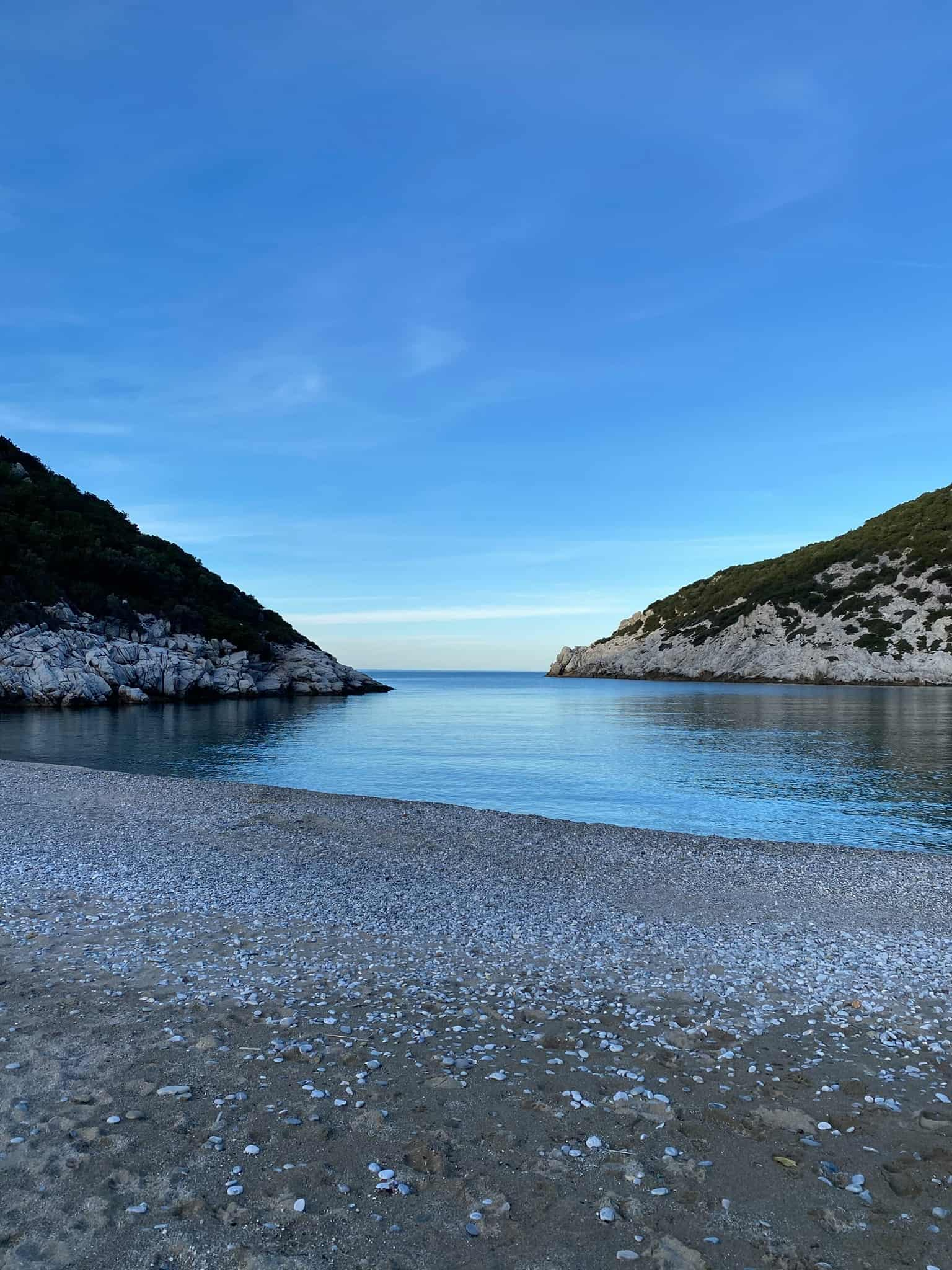 Glysteri beach, Skopelos