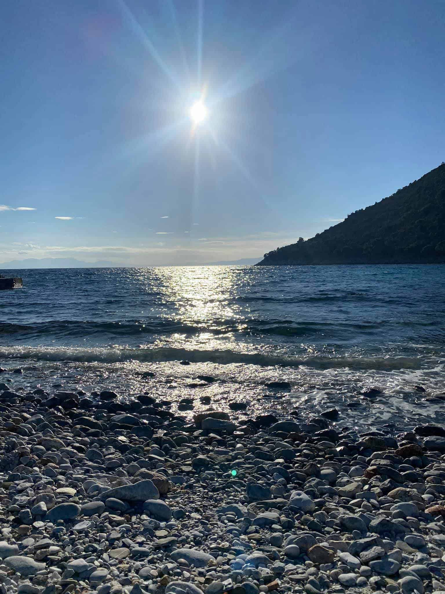 Skopelos island, Limnonari beach