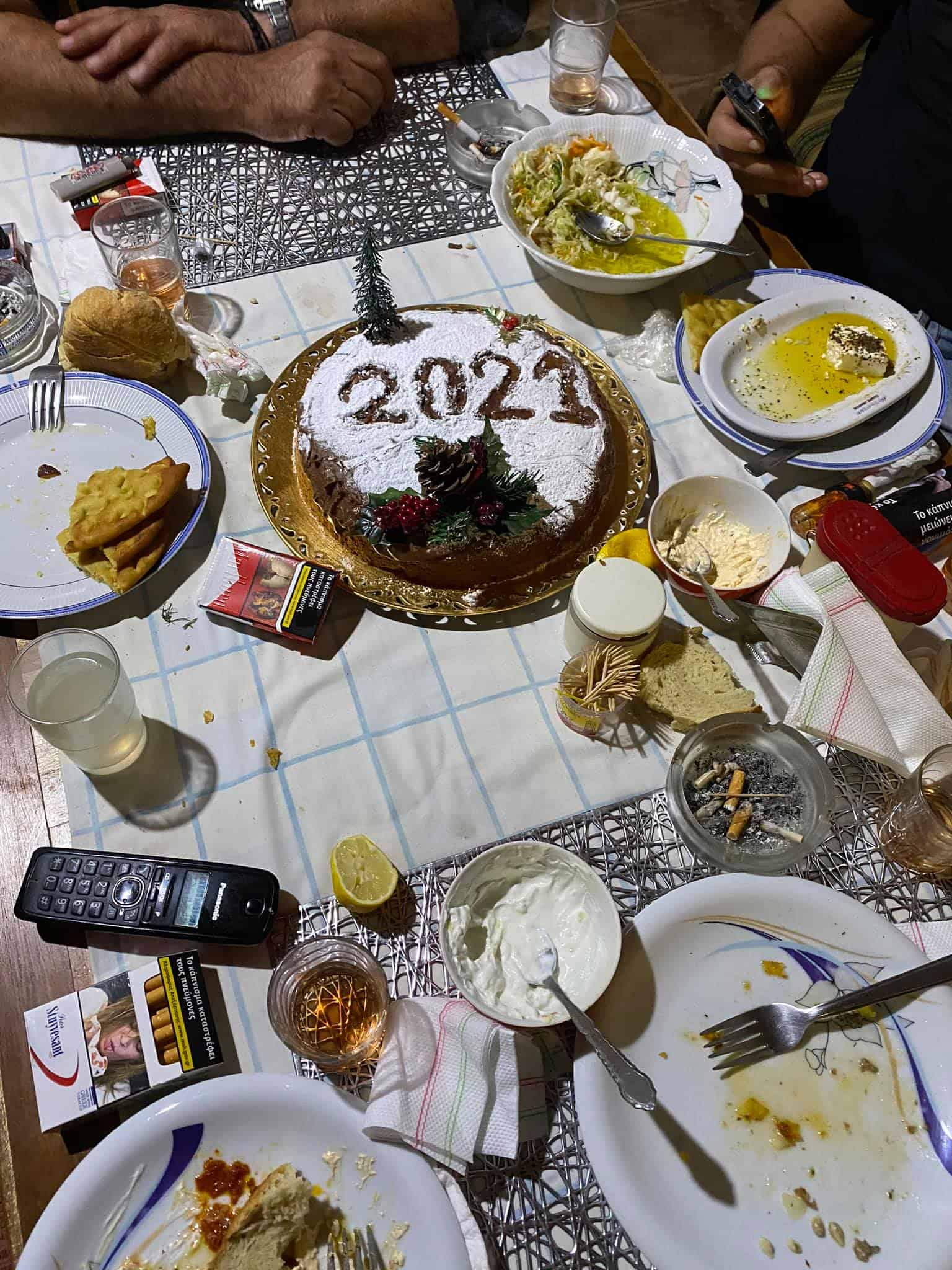 Facts about Greece: Greeks eat a special cake for New Year's Day