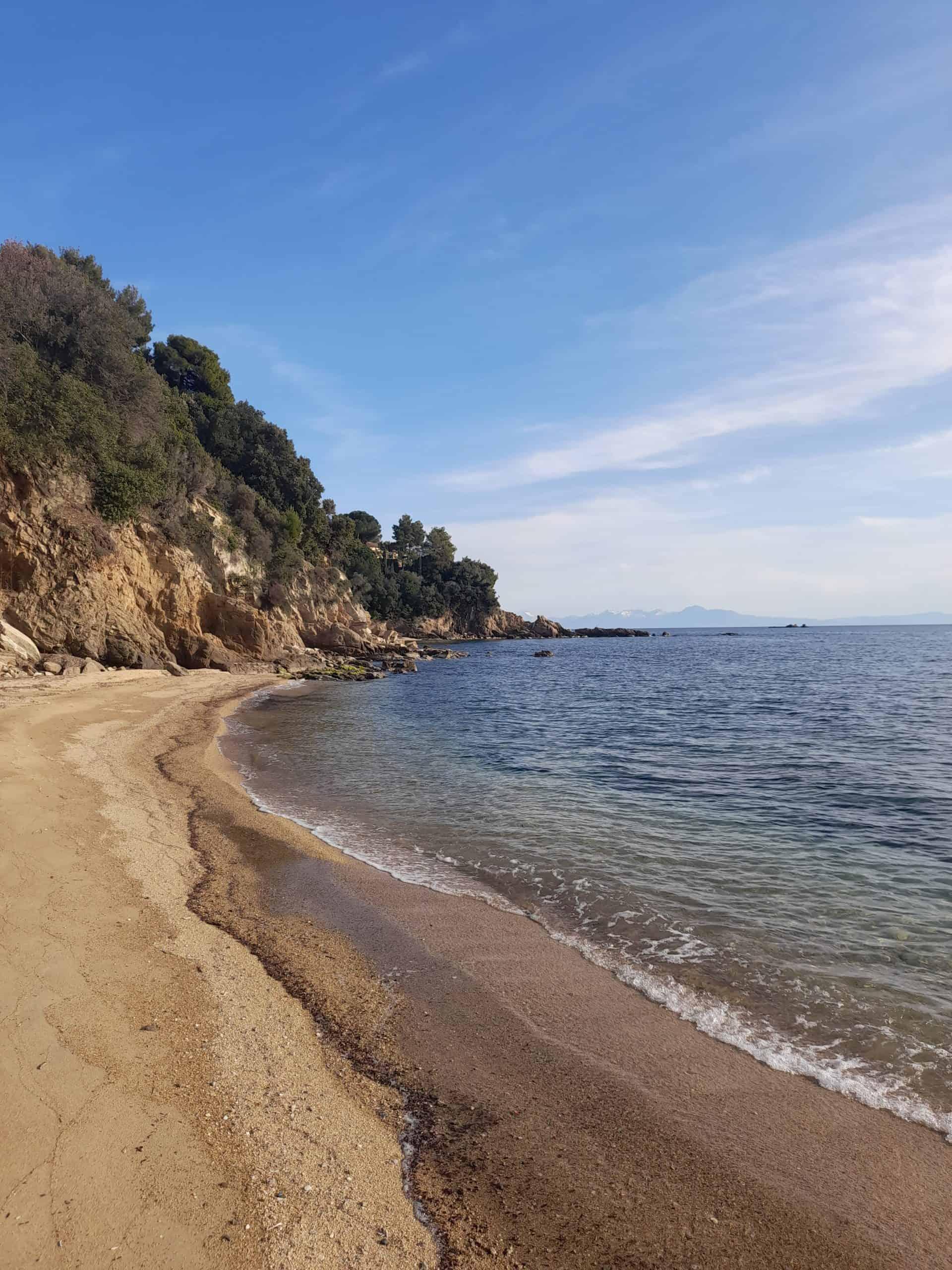 Skiathos beaches: Troulos