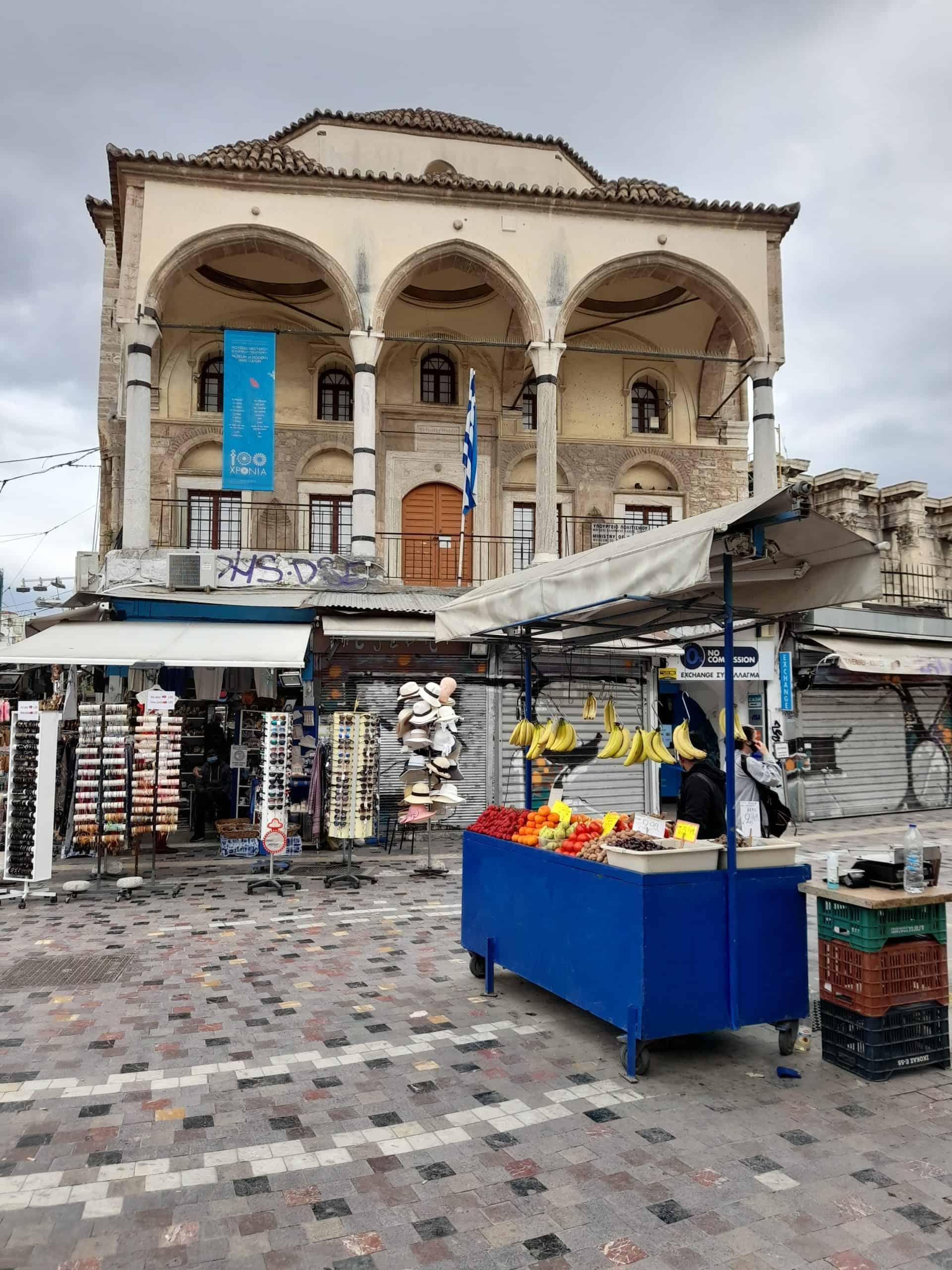 Landmarks of Athens: Tzistarakis Mosque
