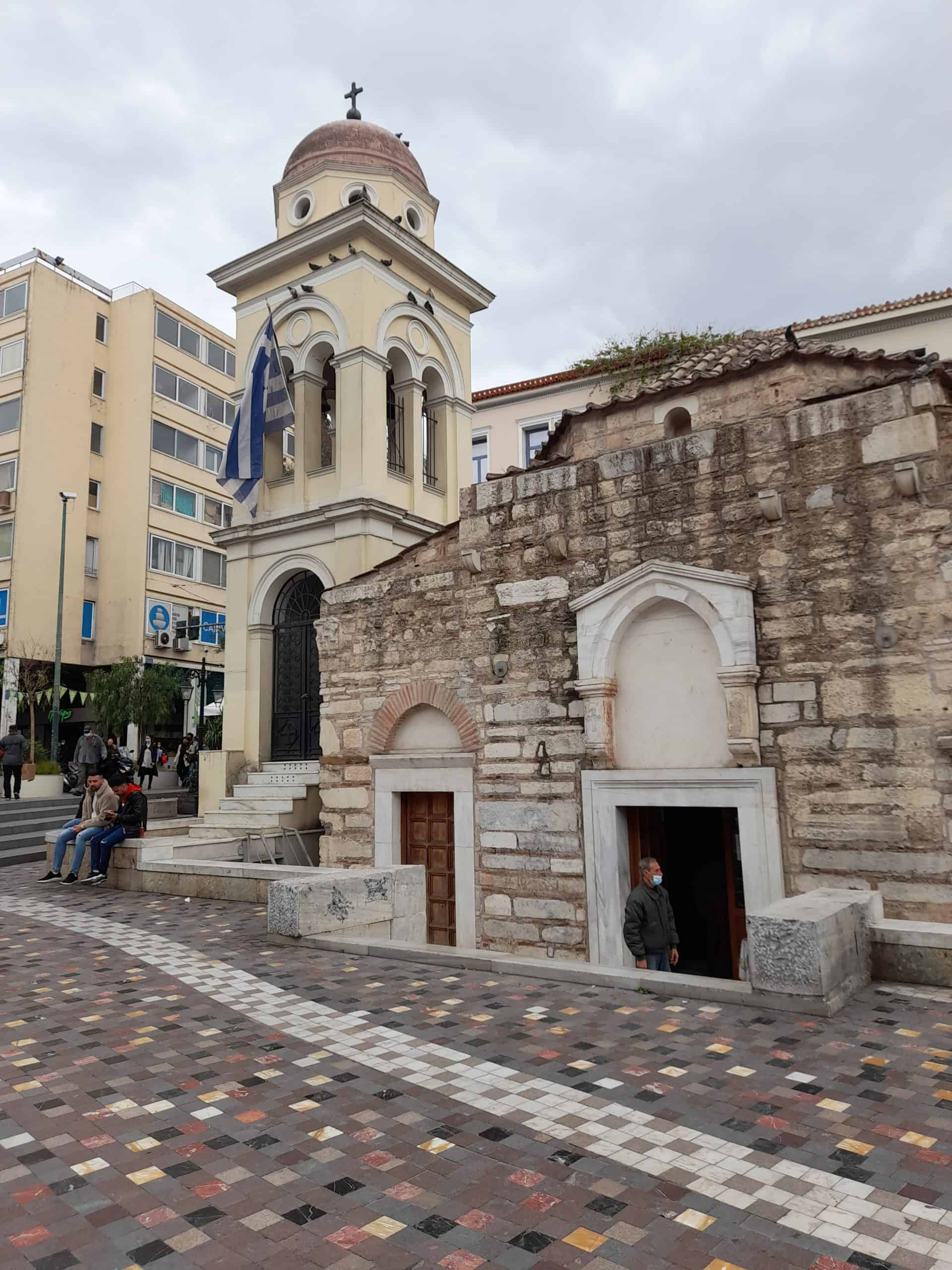 Athens churches: The Church of the Pantanassa