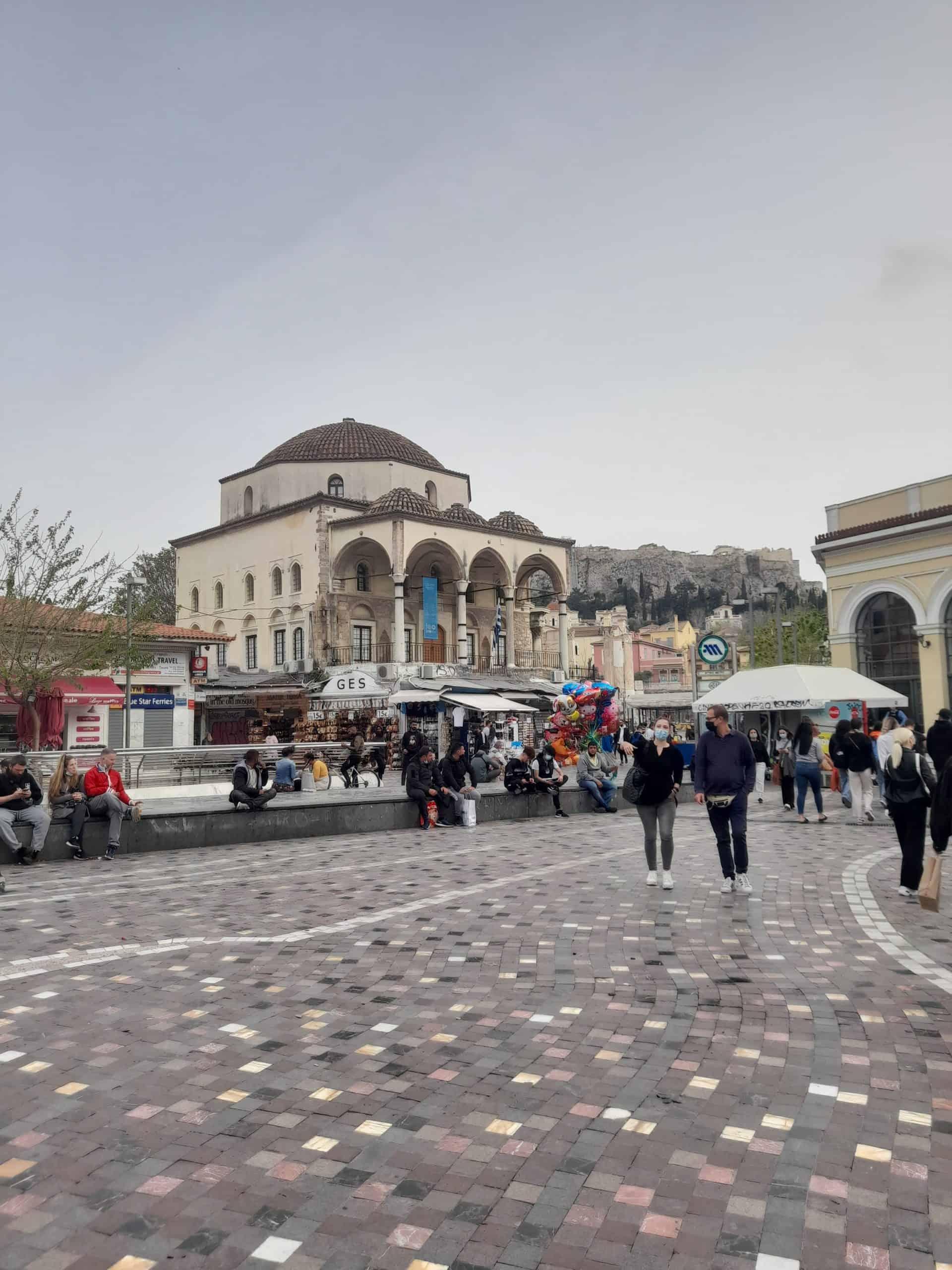 Athens' Monastiraki district