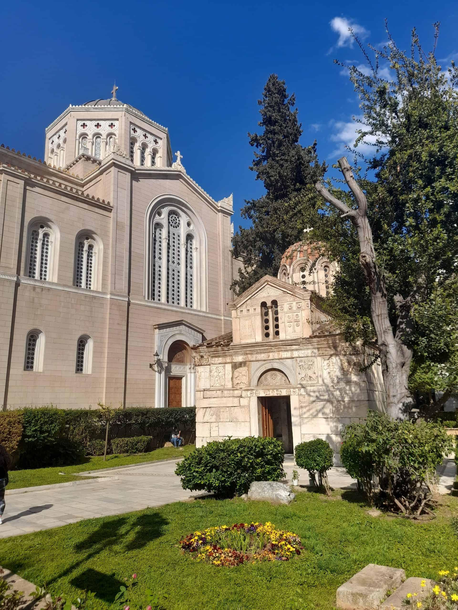 Churches of Monastiraki, Athens