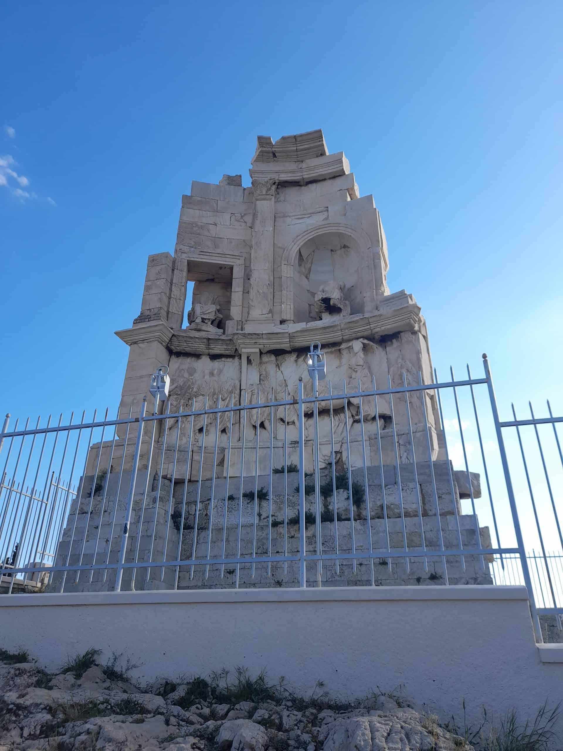 Thissio: Filopappou Monument
