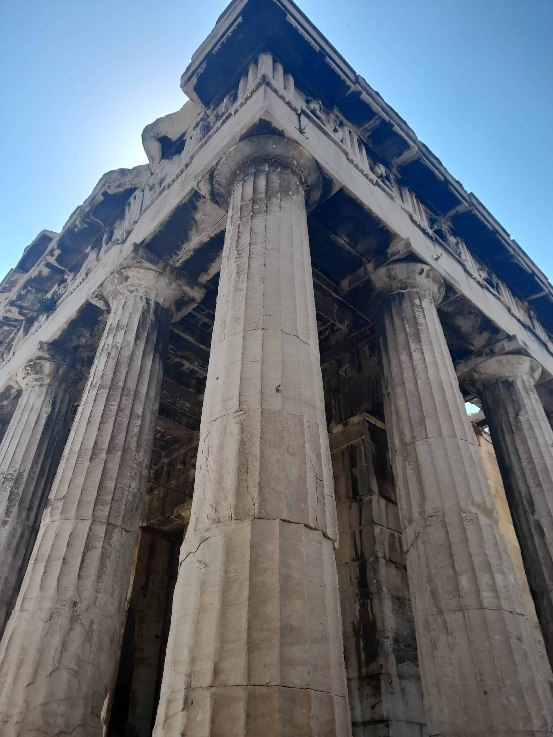 Athens in a day: Temple of Hephaestus