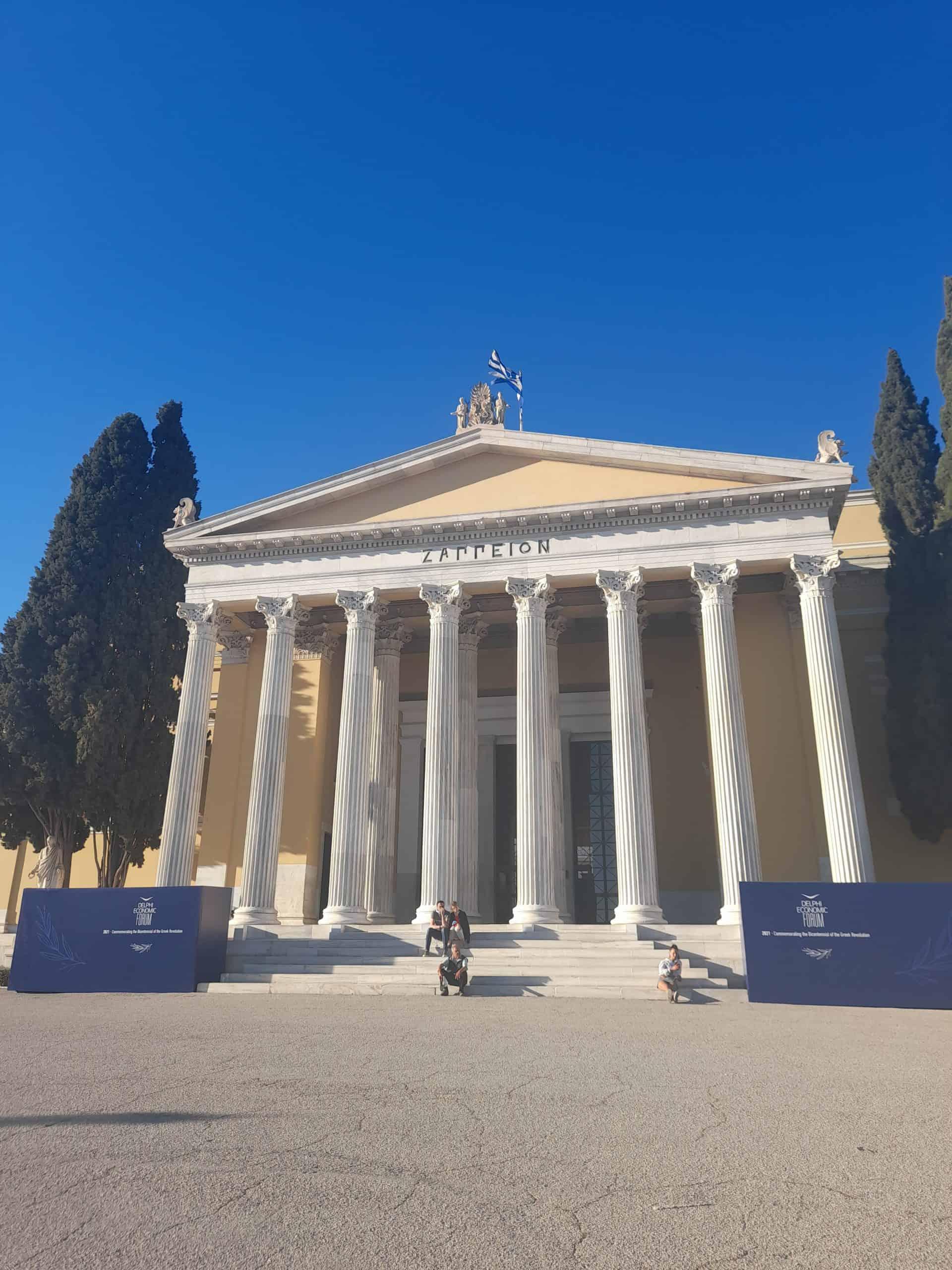 Athens landmarks