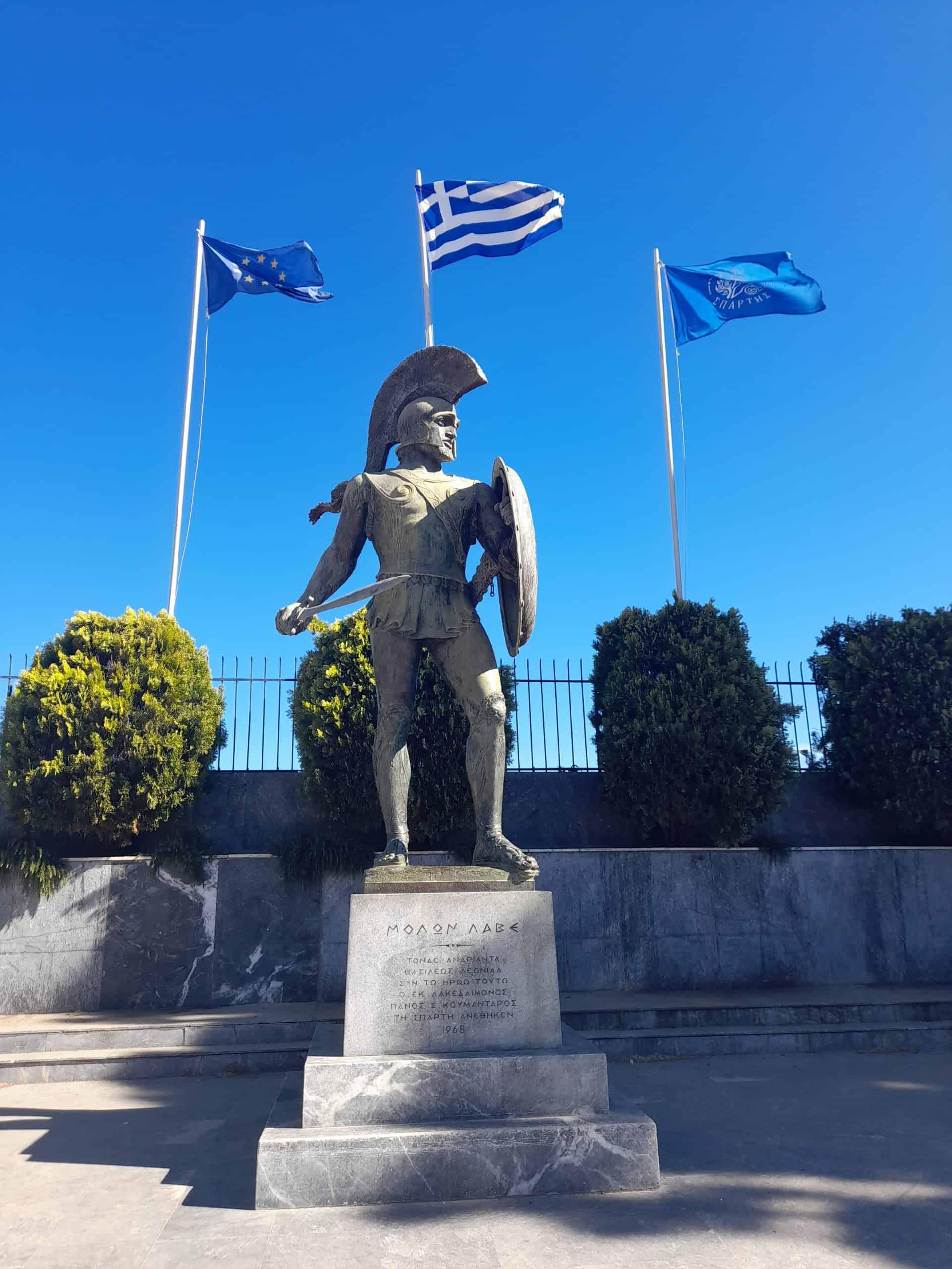 Sparta, the Peloponnese