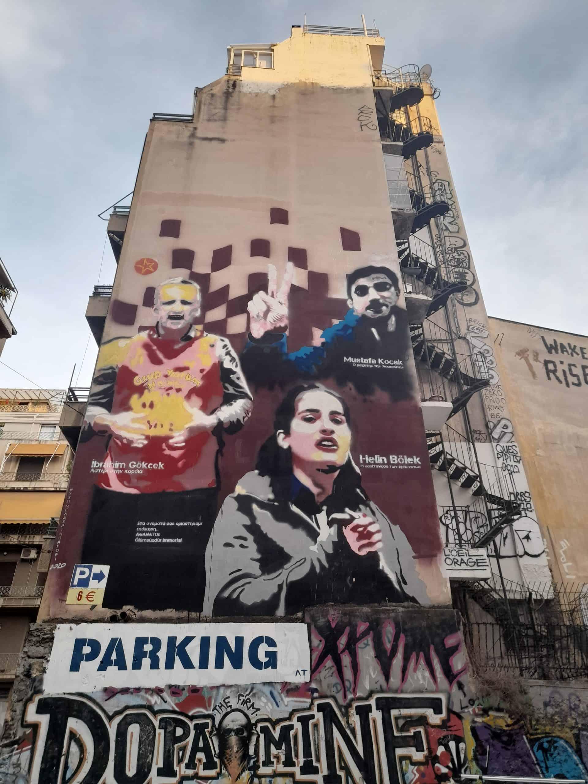 Exarchia, Athens street art