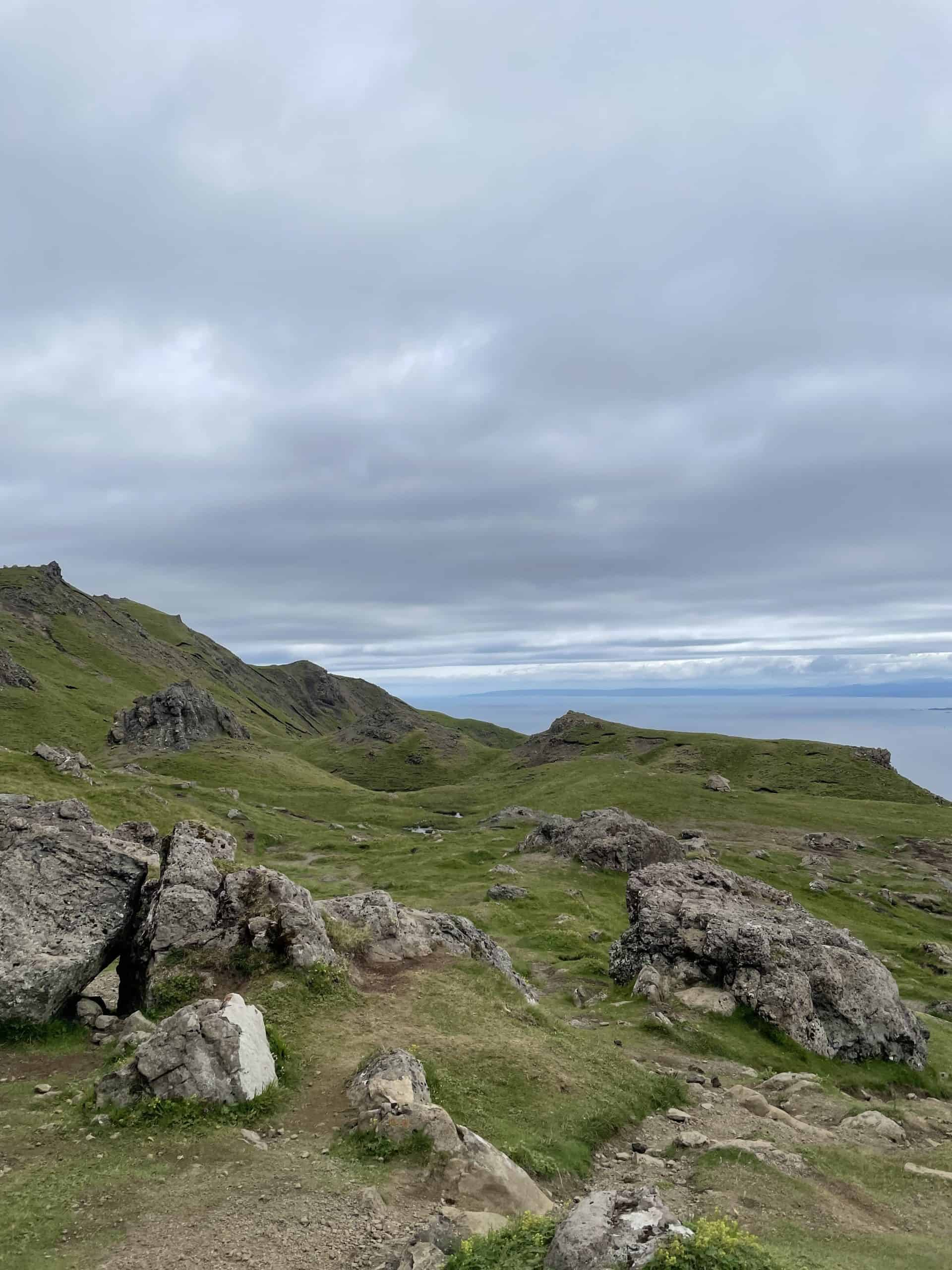 View from the Old Man of Storr walk