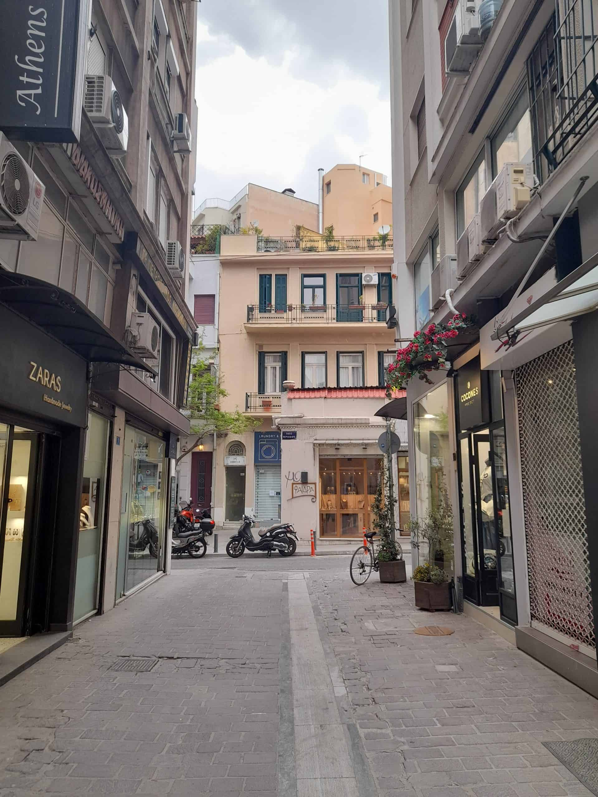 Athenian stores often have sales commencing in September