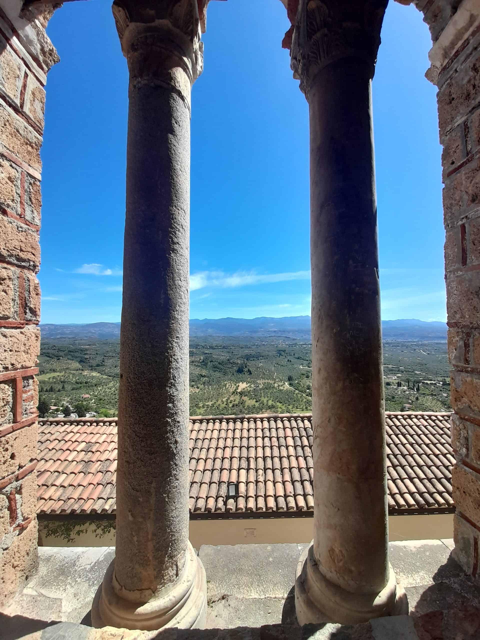 View from Pantanassa Monastery, Mystras