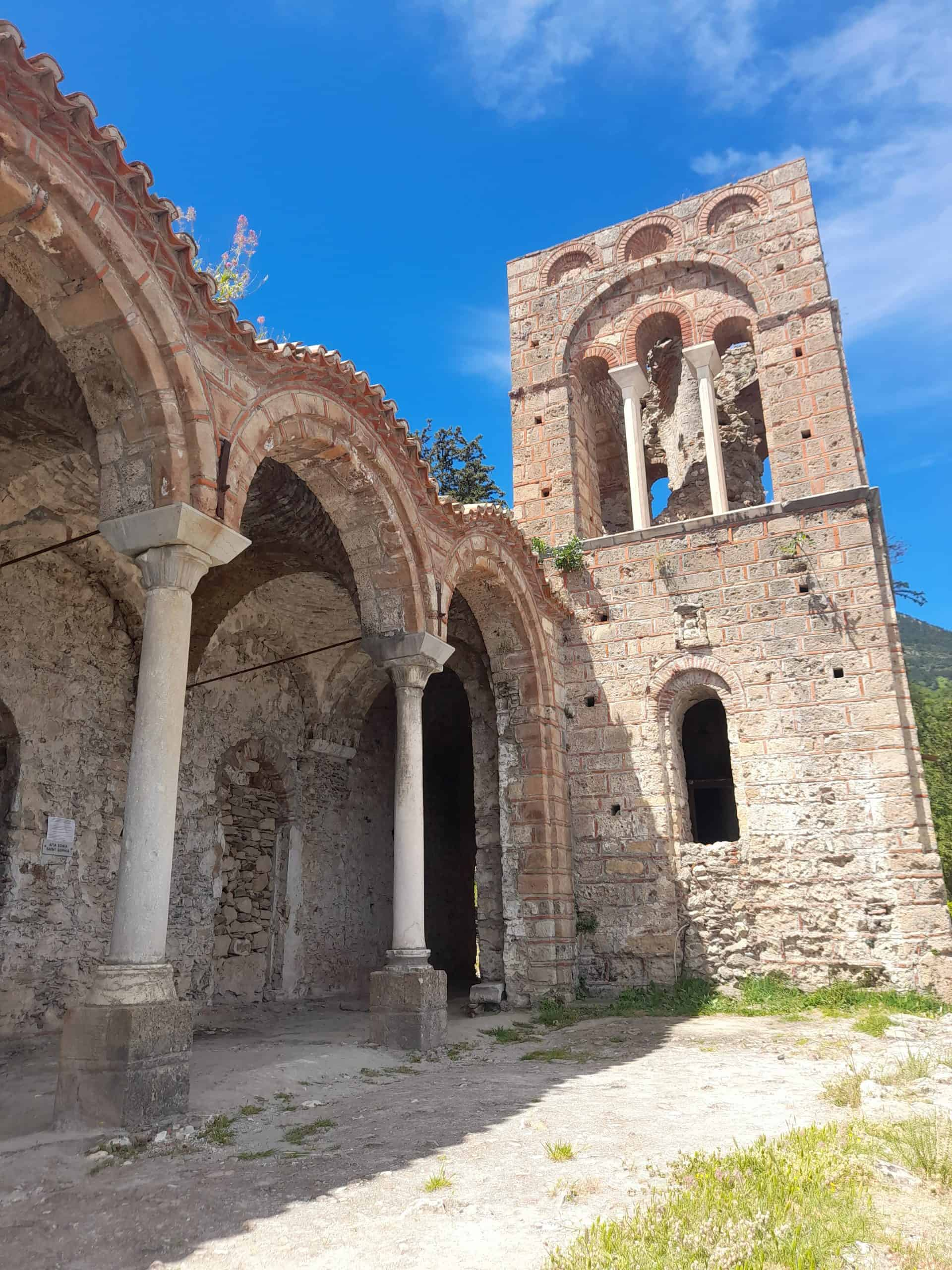 The churches of Mystras, Greece